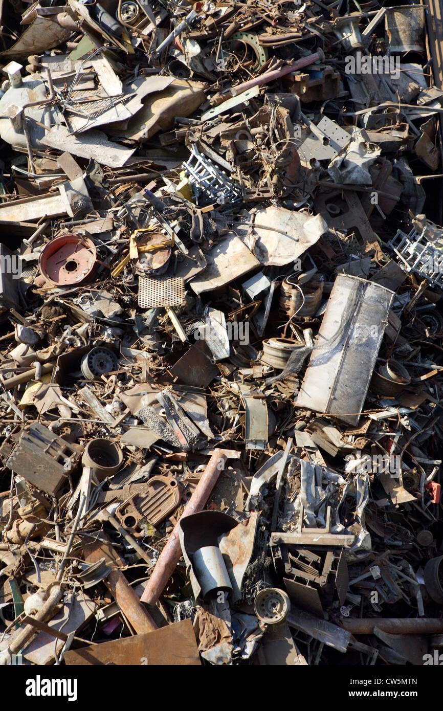 Scrap metal - Stock Image