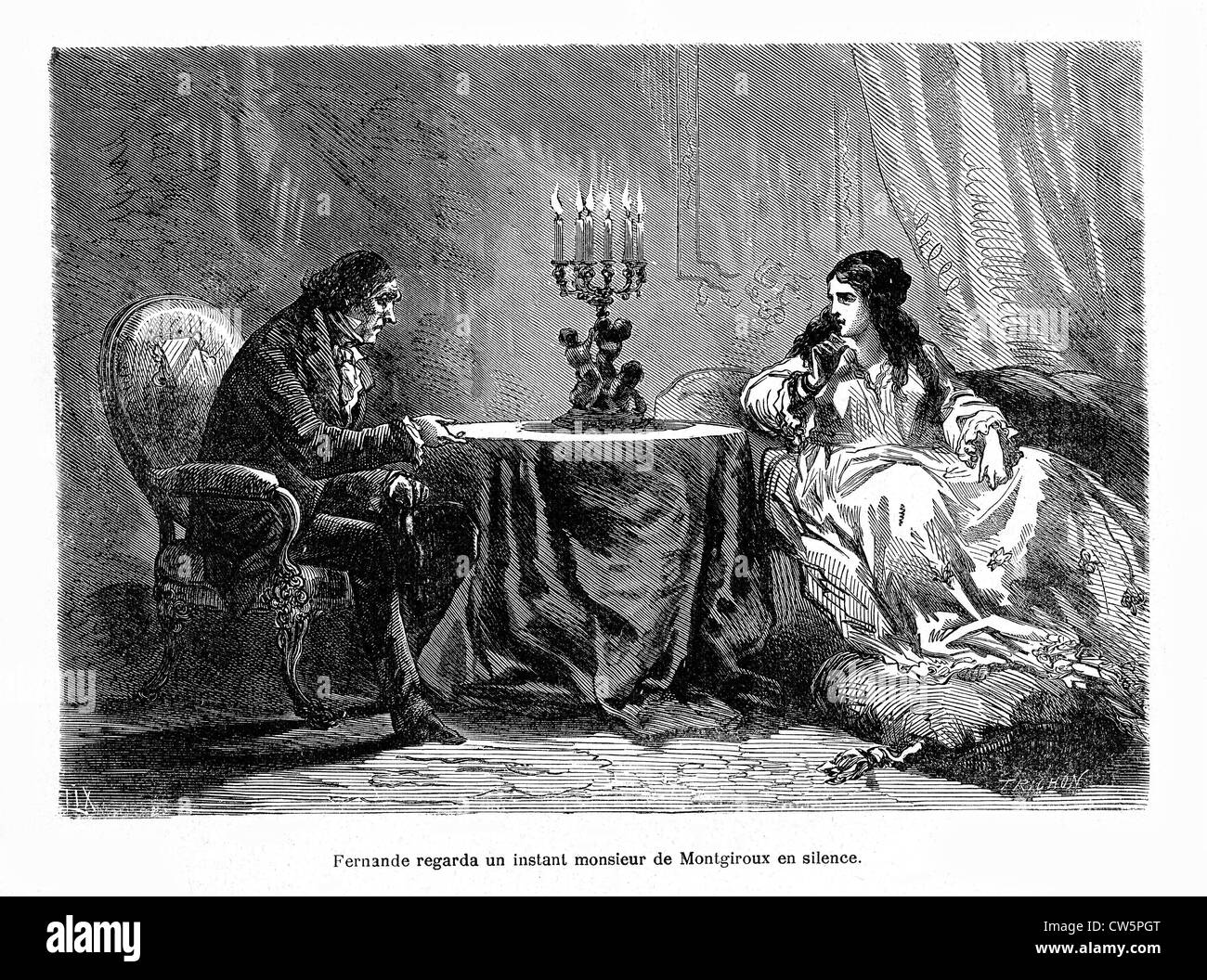 Fernande: The Story of a Courtesan - Stock Image