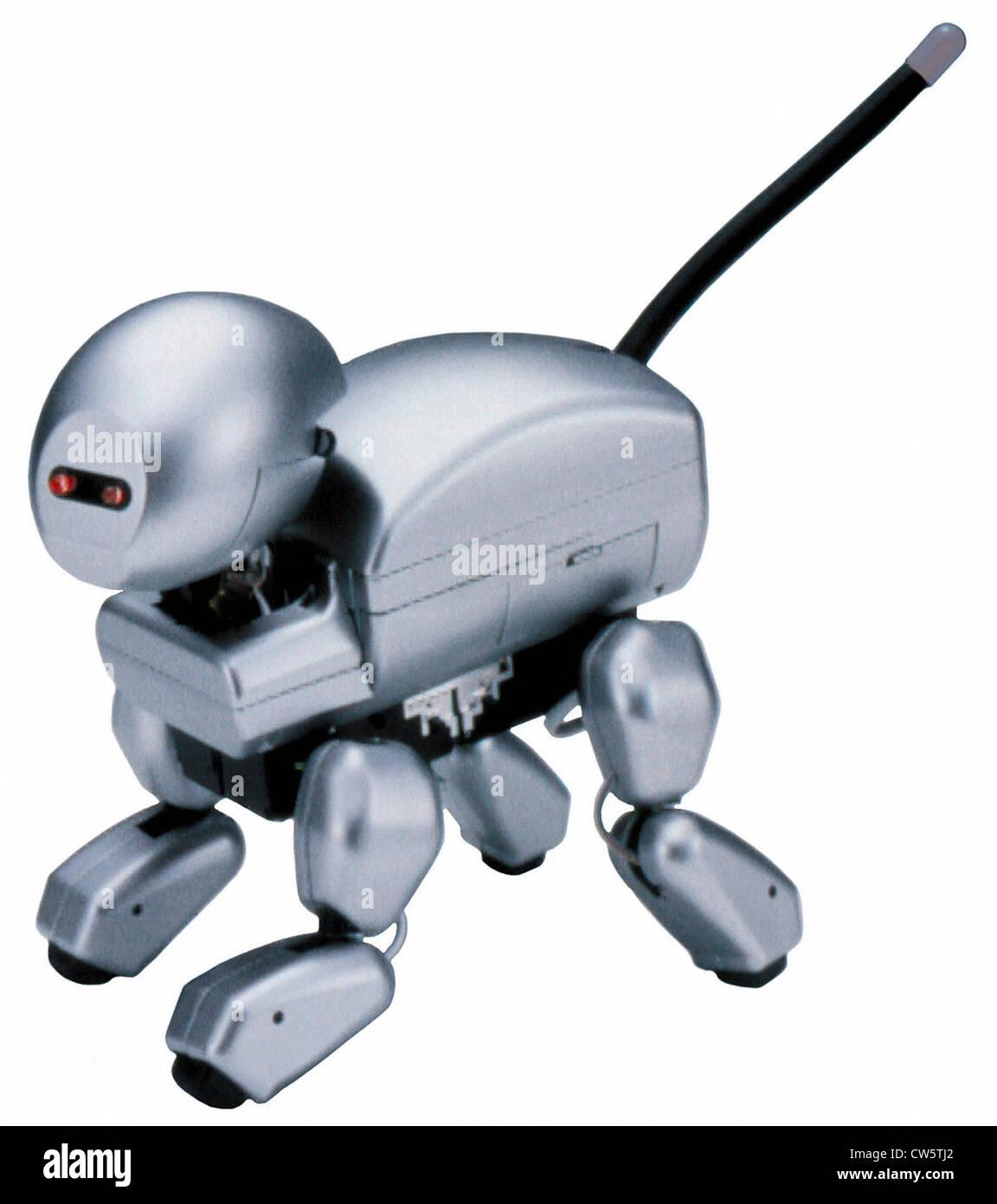 Robot Dog Sony Robo Pet Sciences Stock Photos & Robot Dog