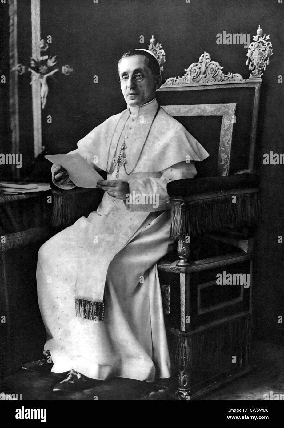 Pope Benoit XV, 1915 - Stock Image