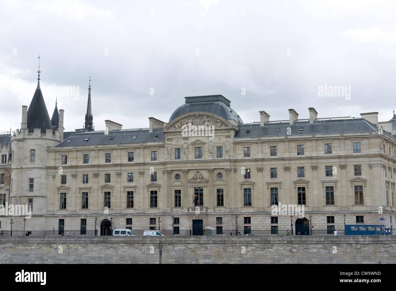 Tribunal de Commerce, Commercial Court, Paris. - Stock Image
