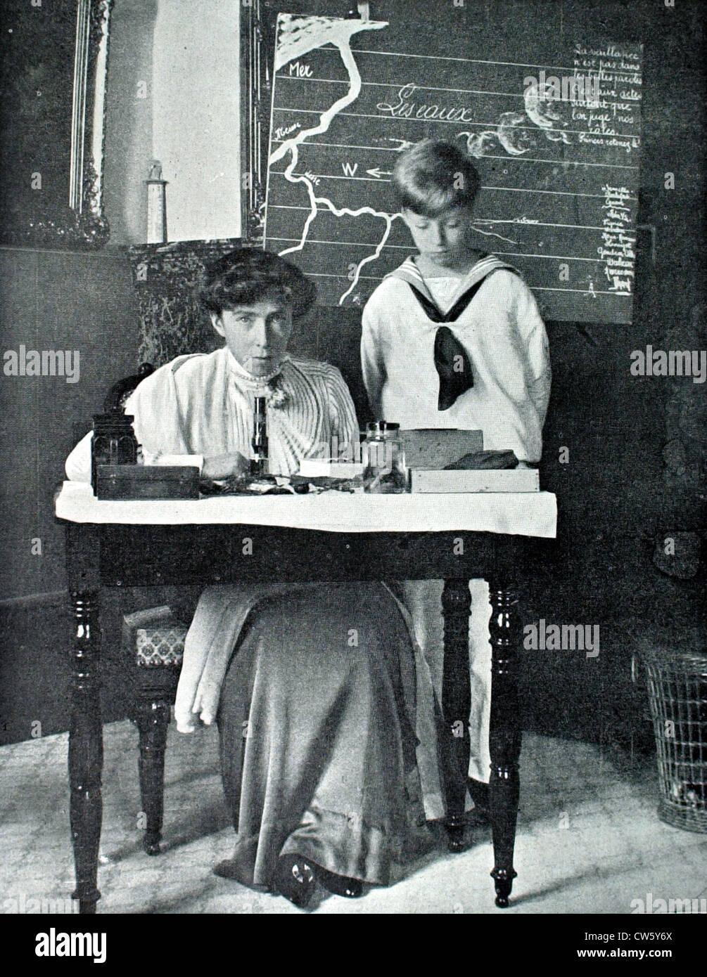 Queen Elisabeth of Belgium (1913) Stock Photo
