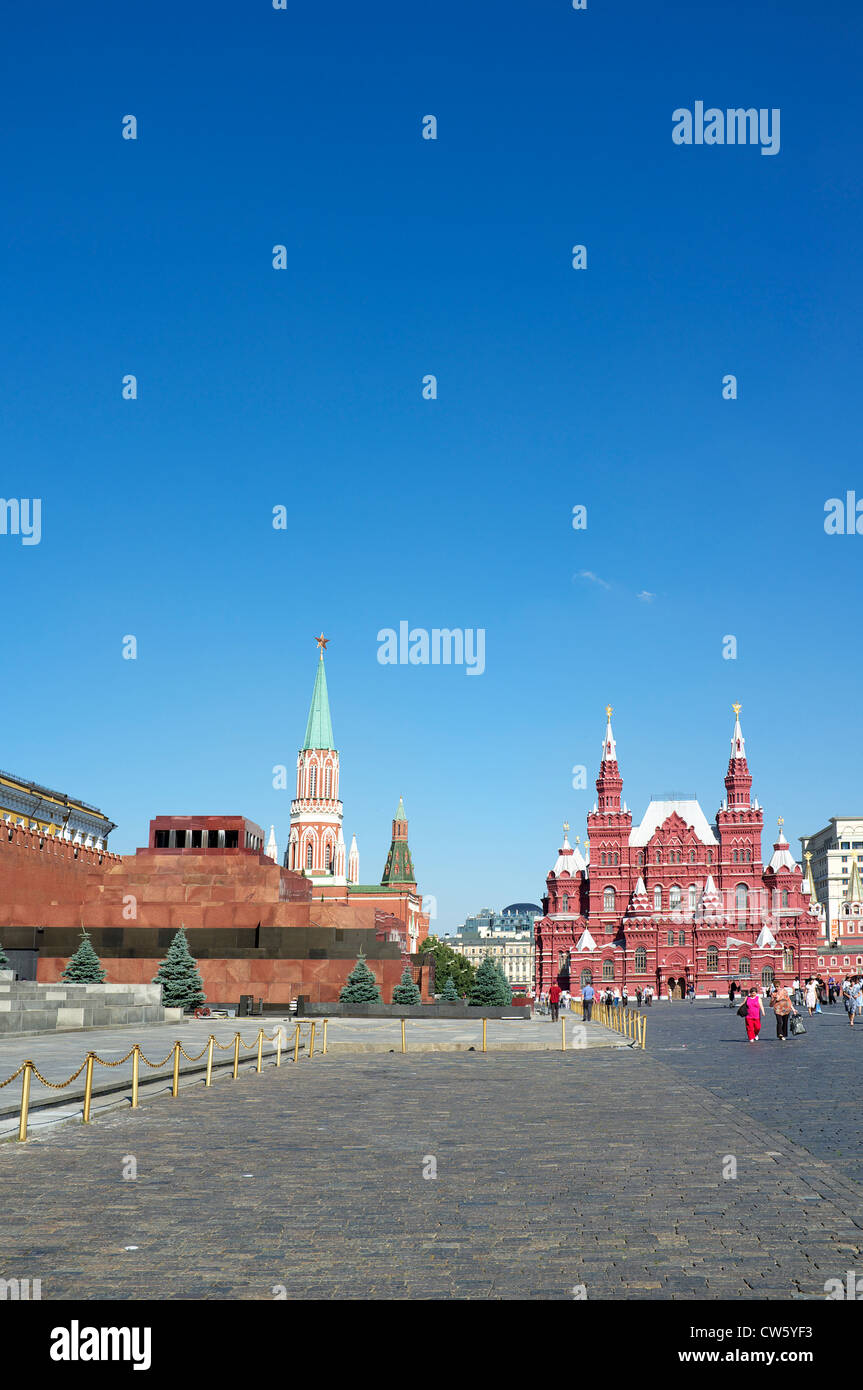Red Square, Moscow - Stock Image