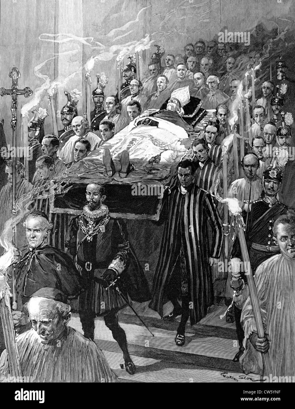 Funeral of Pope Leo XIII (July 25, 1903)