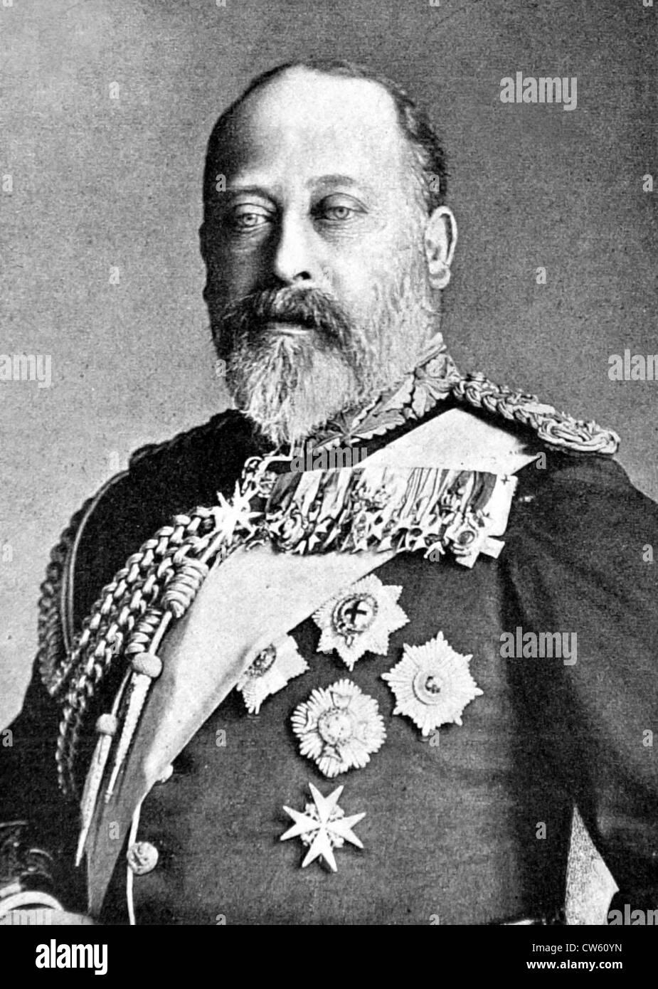 Edward VII of England (1901) - Stock Image