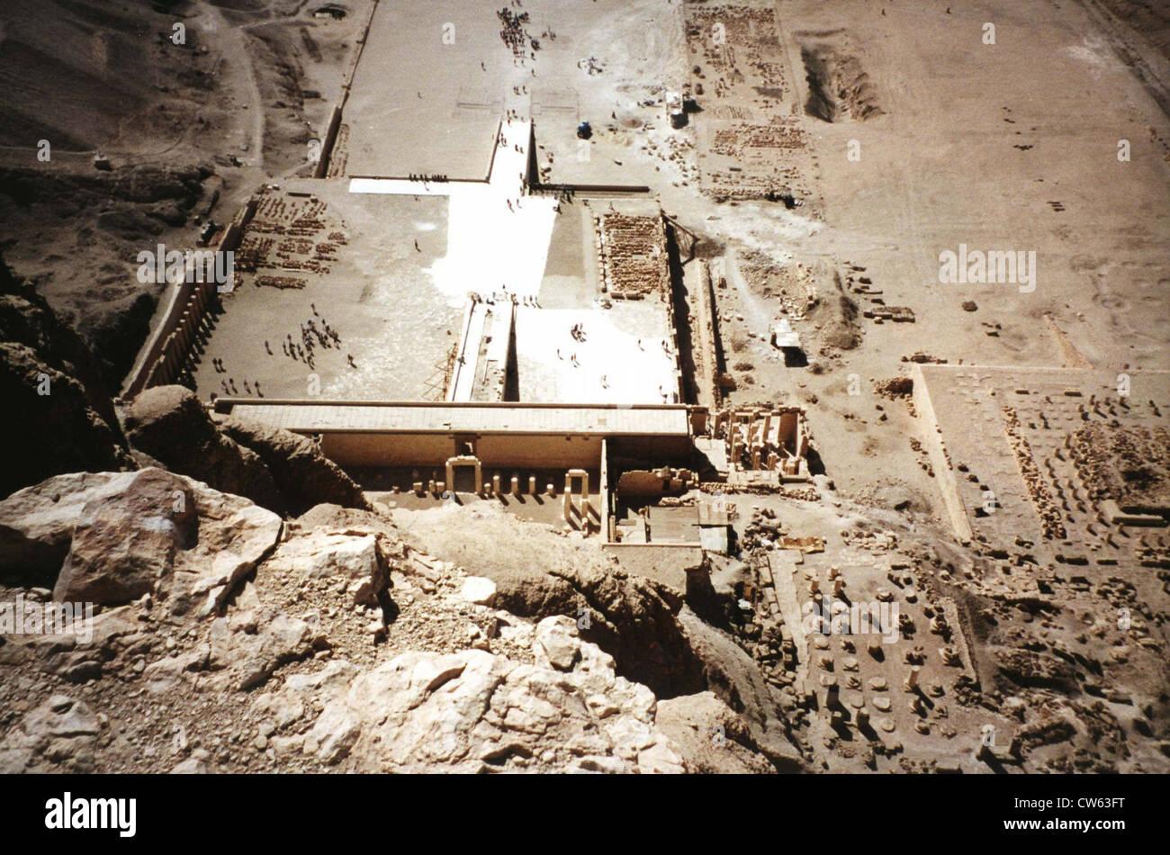 Dayr al Madinah site - Stock Image
