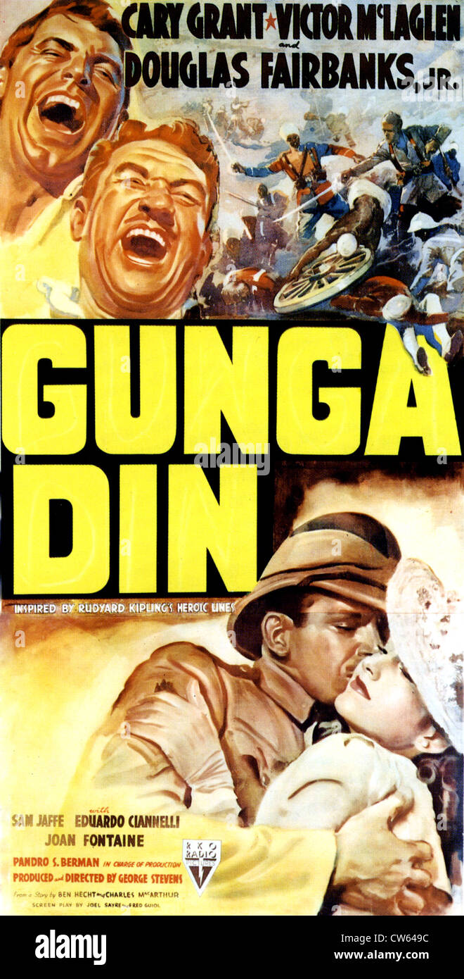 Gunga Din Poster For 1939 Rko Film With Cary Grant And Joan Fontaine Stock Photo Alamy Get the track instantly from 3rd july when you pre order on. https www alamy com stock photo gunga din poster for 1939 rko film with cary grant and joan fontaine 49922248 html