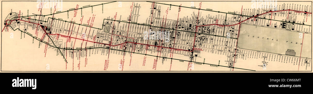 Hotel Map Of New York City.The Merchants Association Hotel And Theater Map New York City