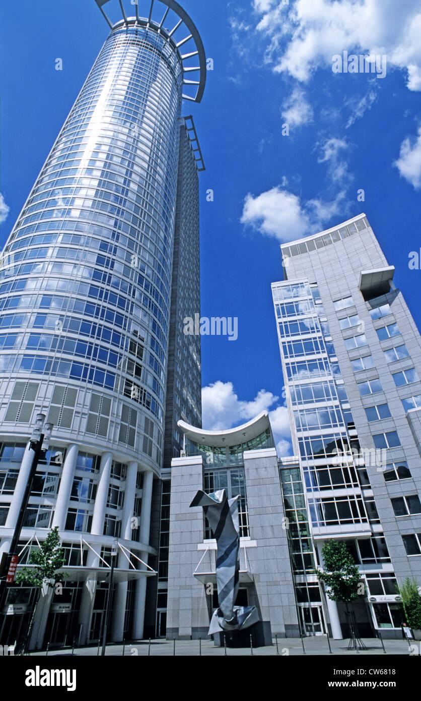 DZ-Bank, Germany, Hesse, Frankfurt a. M. Stock Photo