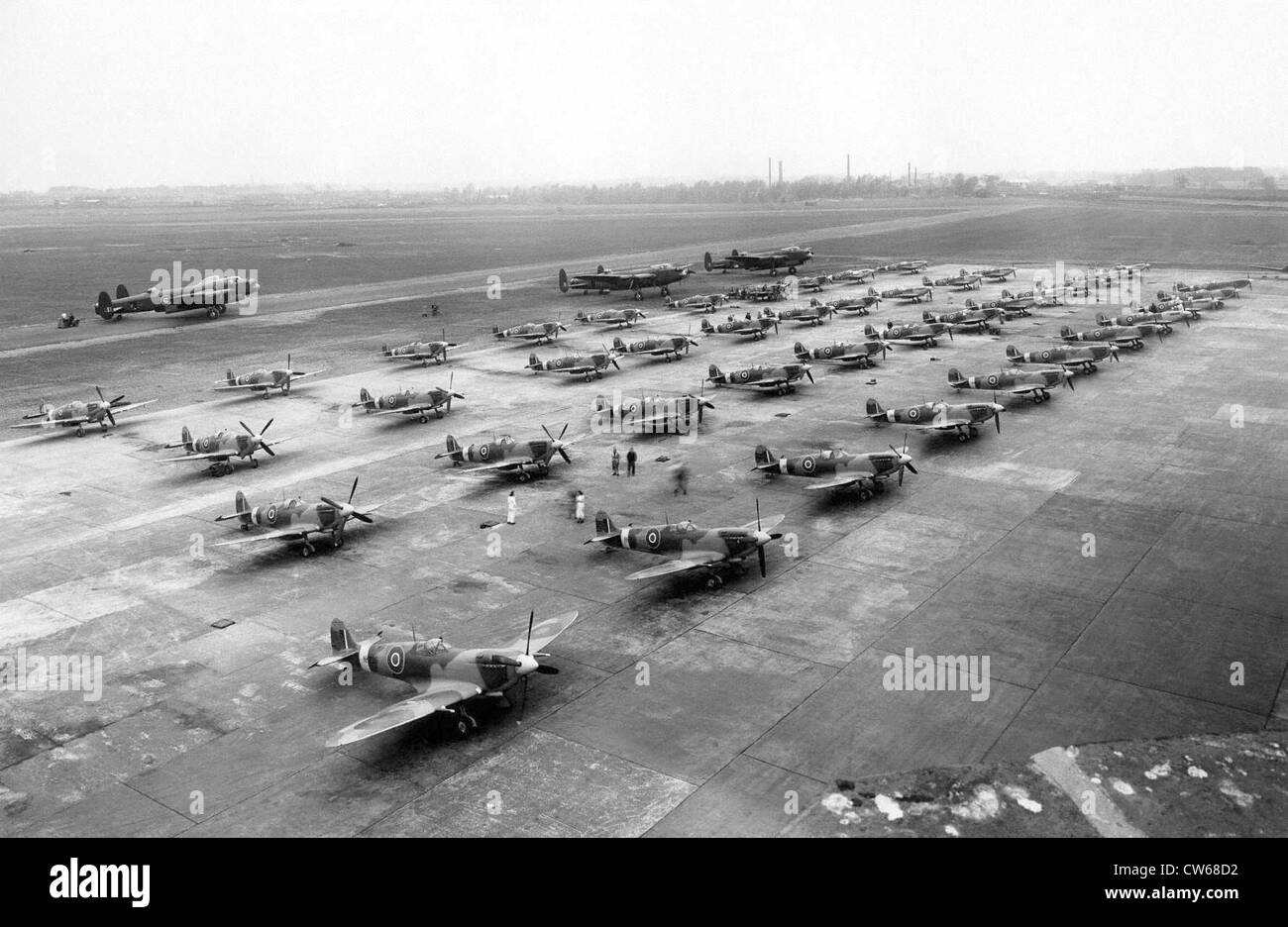 British aeronautics industry, 1943-1944. - Stock Image