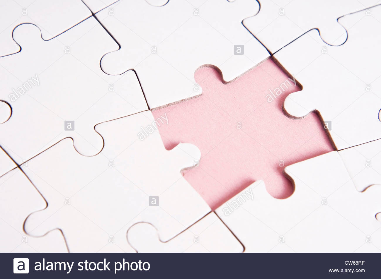 Puzzle parts - Stock Image