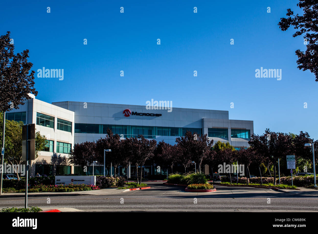 Microchip Technology Inc building in Silicon Valley