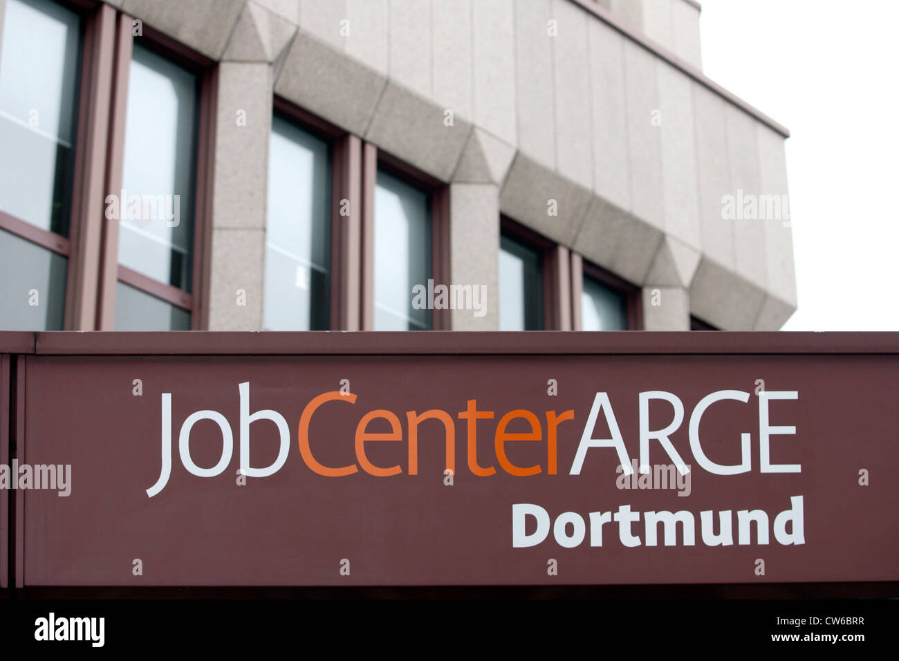 Job Center Consortium Dortmund - Stock Image
