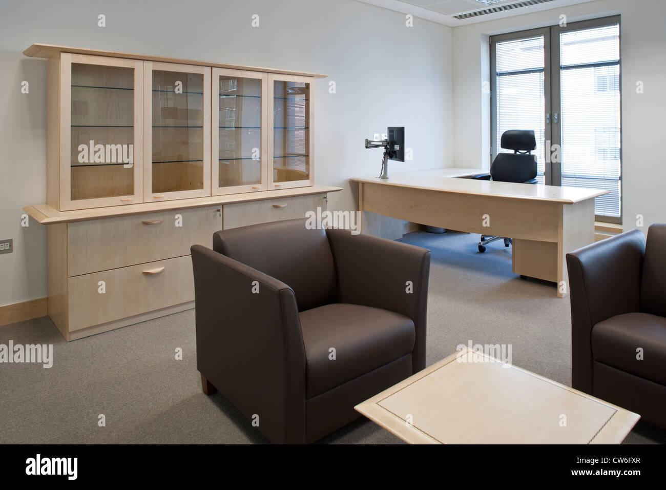Contemporary Directors Office Furniture Interior Design