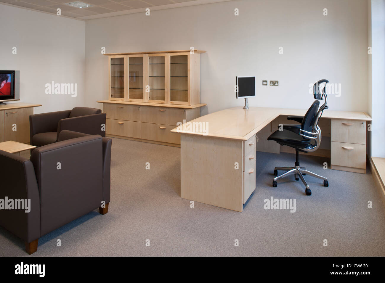 contemporary modern office furniture. Directors Office - Stock Image Contemporary Modern Furniture W