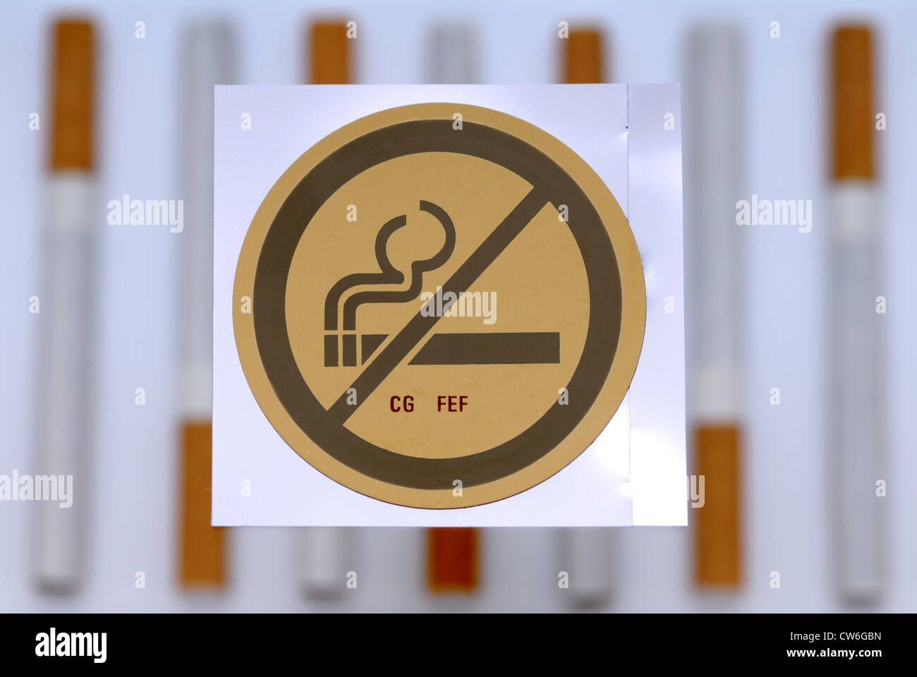 nicotine patch - Stock Image
