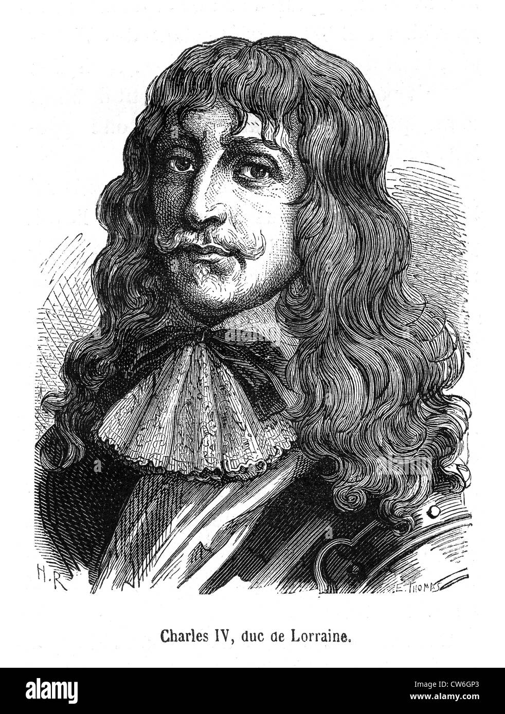 Charles IV - Stock Image