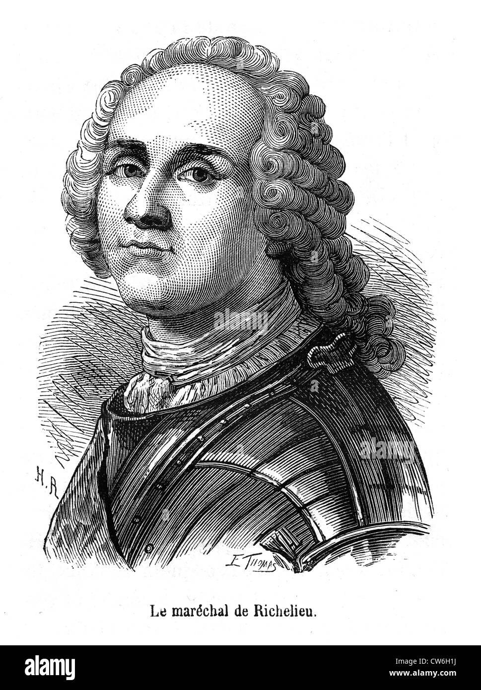 Marshall of Richelieu - Stock Image