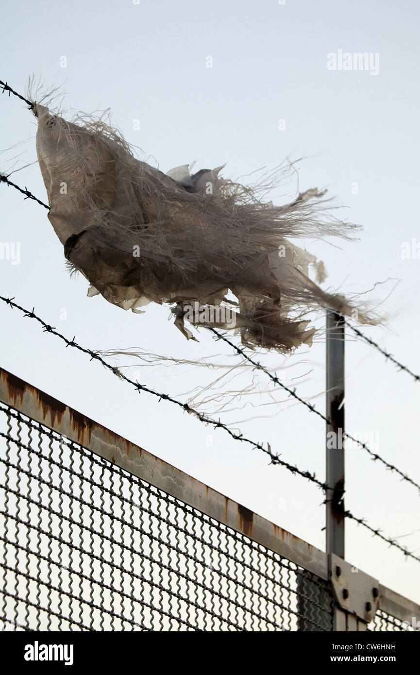 Barbed Wire Fence Blowing Stock Photos & Barbed Wire Fence Blowing ...