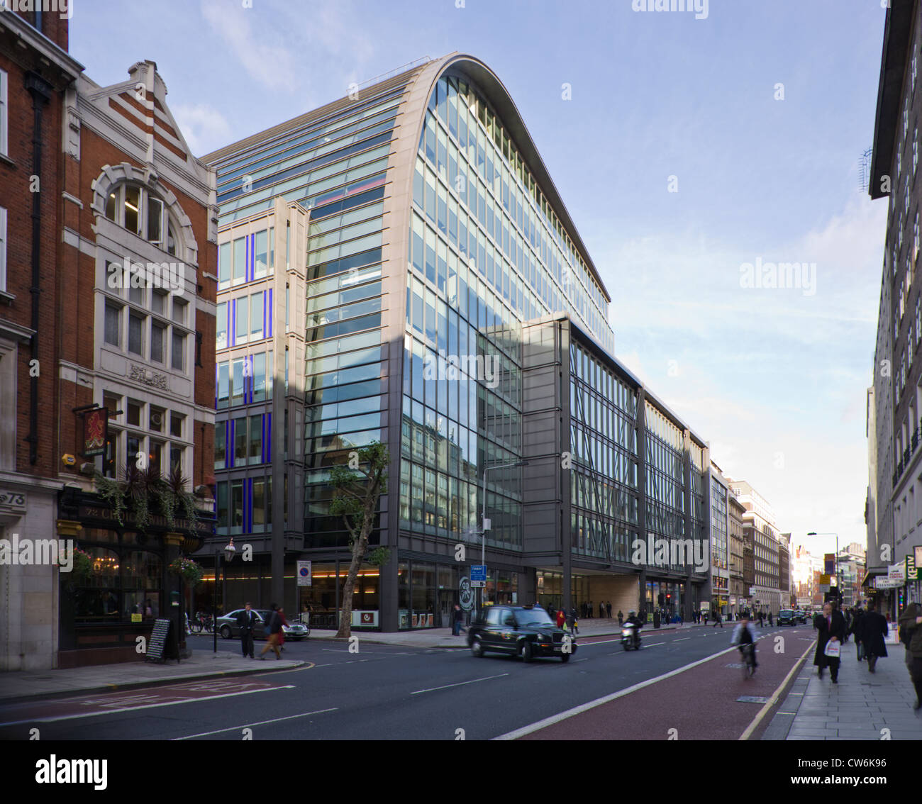 Modern Office Building In High Holborn London