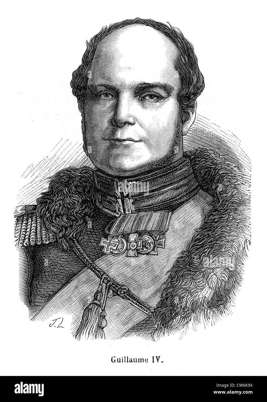 William IV - Stock Image