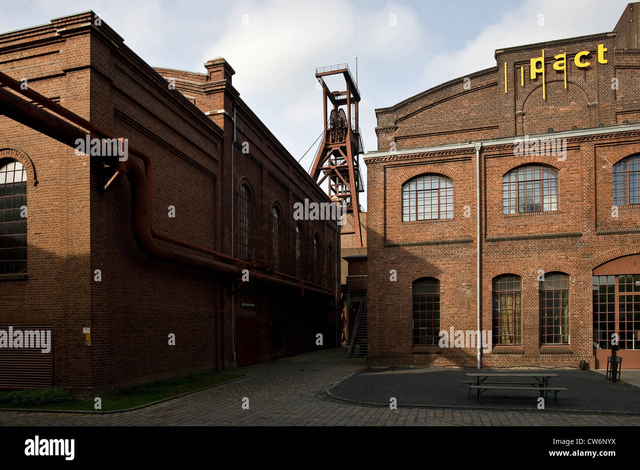 PACT Zollverein, Performing Arts Choreographisches centre NRW Tanzlandschaft Ruhr, Germany, North Rhine-Westphalia, - Stock Image