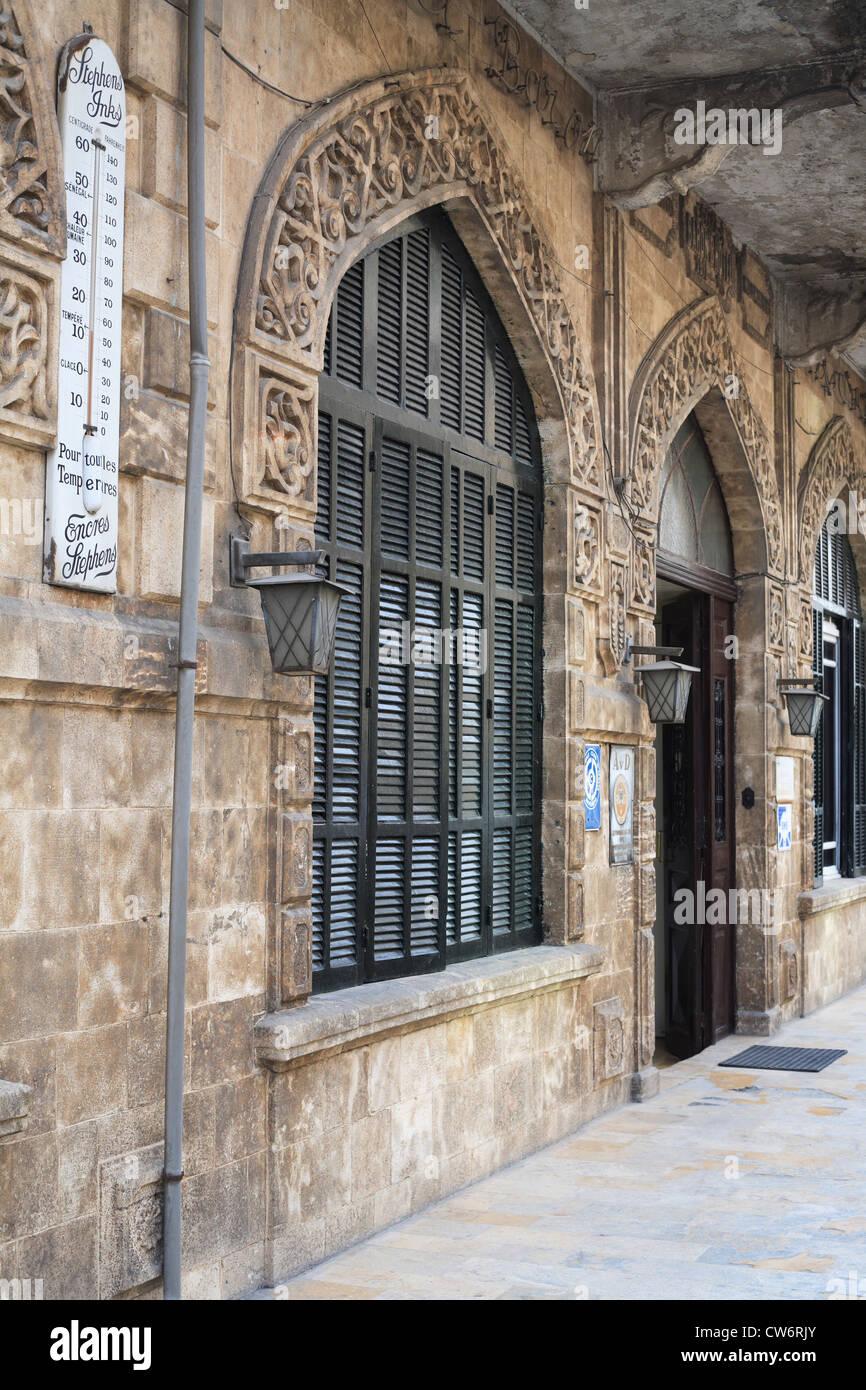 Hotel Baron in Aleppo, Syria - Stock Image