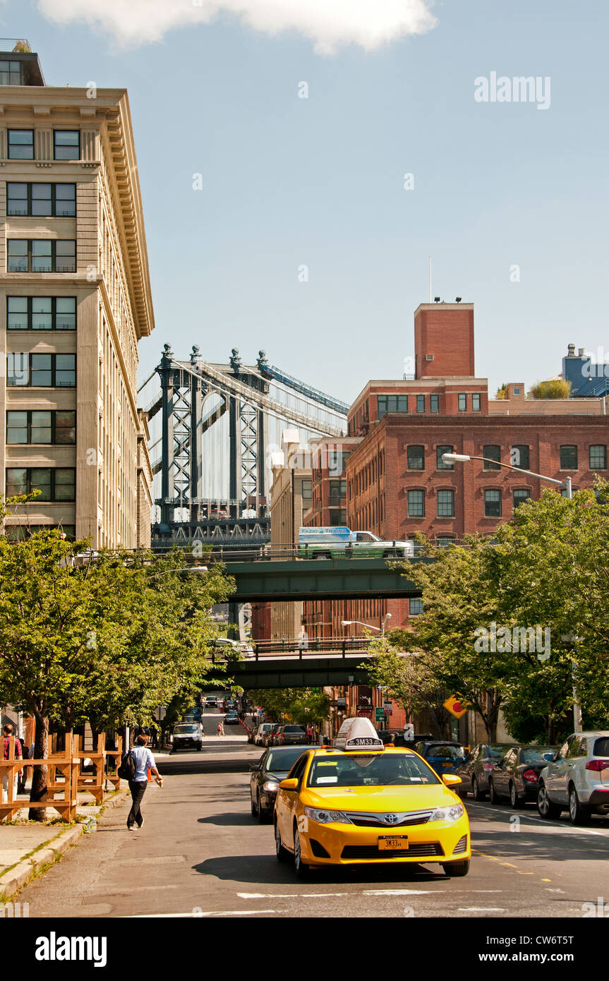 Brooklyn Heights New York City United States - Stock Image