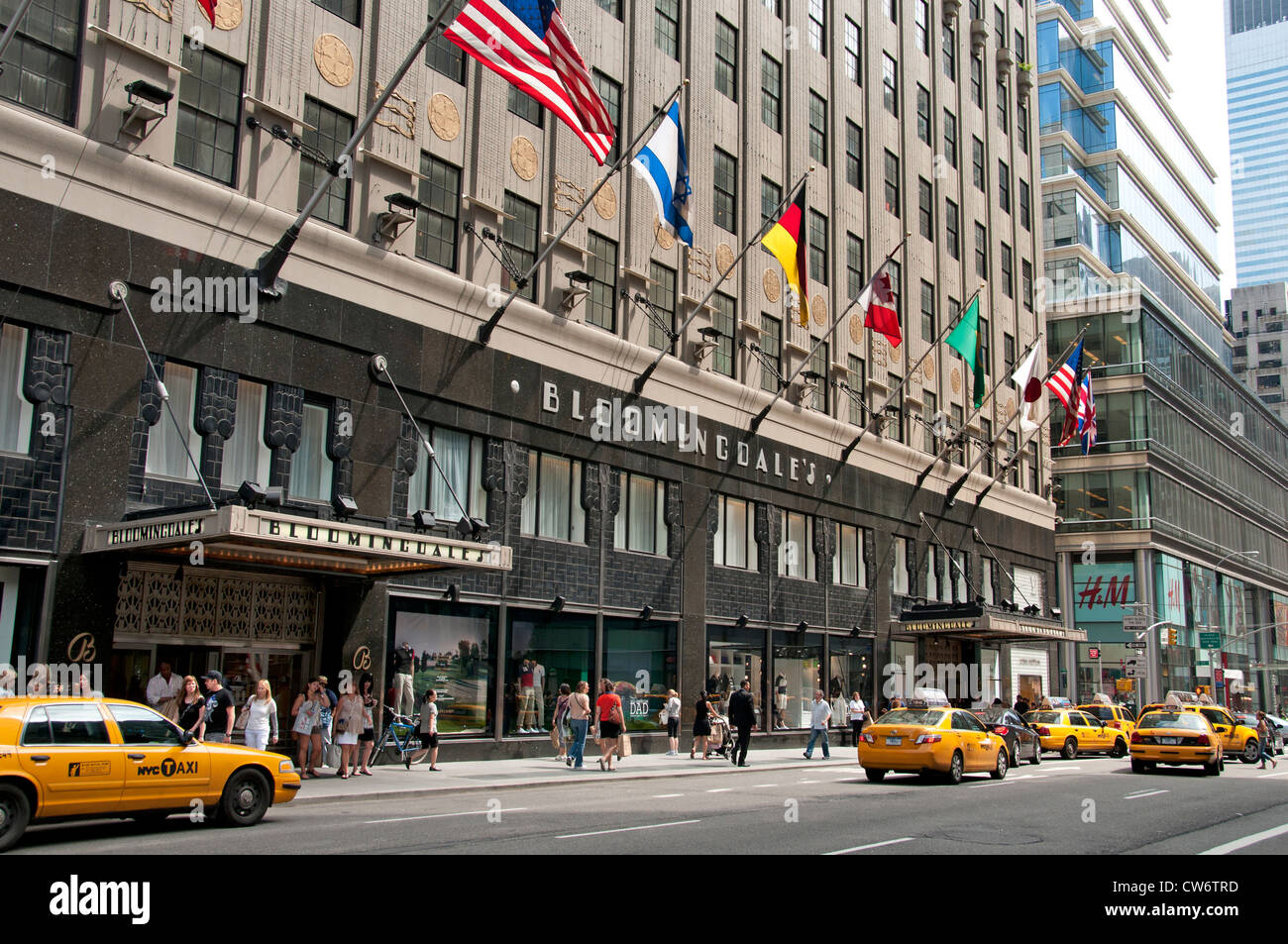 Bloomingdales Department Store Lexington Avenue Manhattan New York City United States Of America