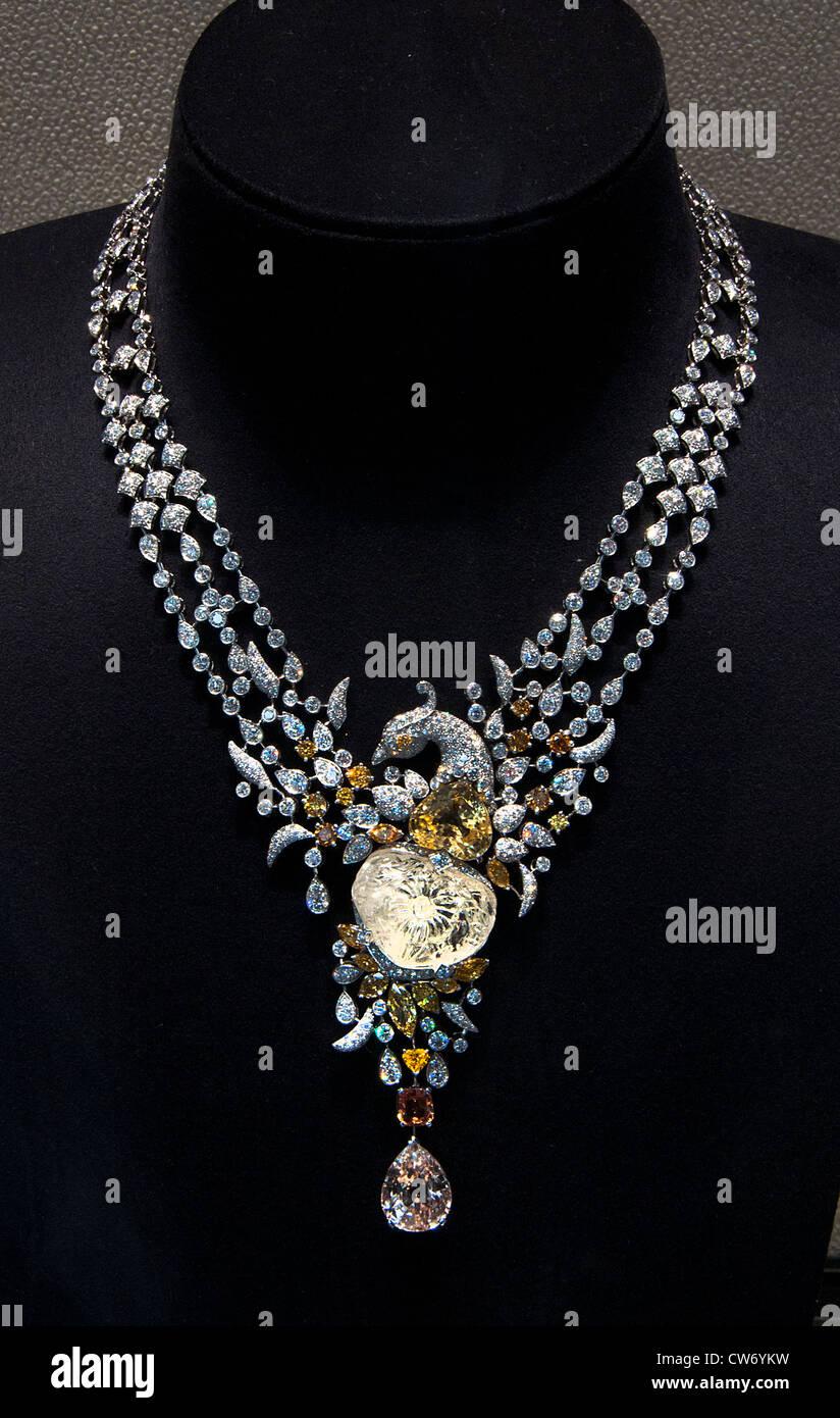 Cartier Jeweler Jewel New York City Manhattan - Stock Image