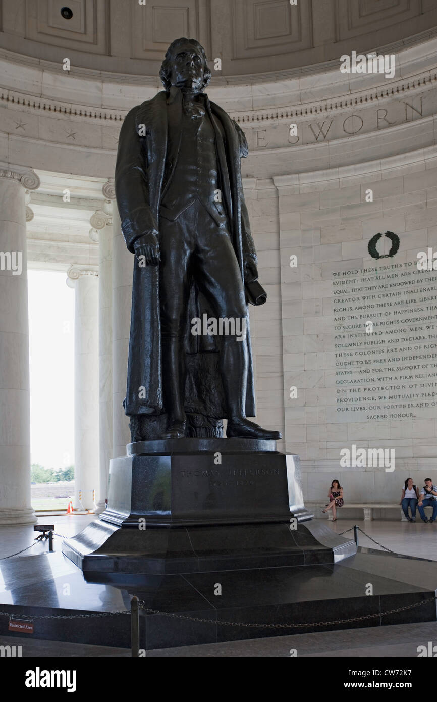 Thomas Jefferson Memorial, Washington D.C. Stock Photo