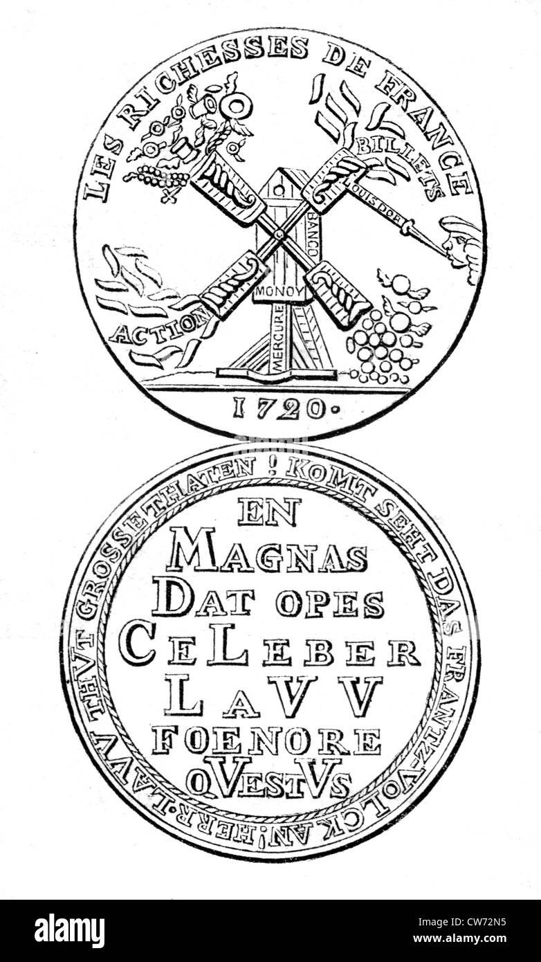 Mariage certificate of J. Balsamo and L. Felichiani Cagliostro, 1768 1768 - Stock Image