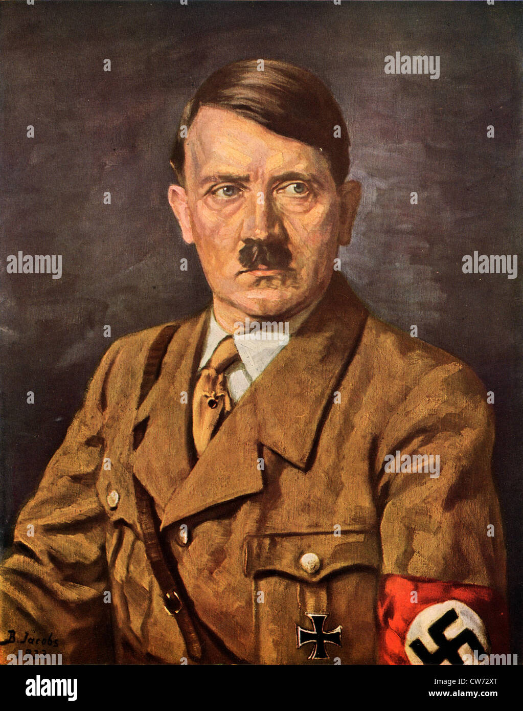 Portrait Of Adolf Hitl...