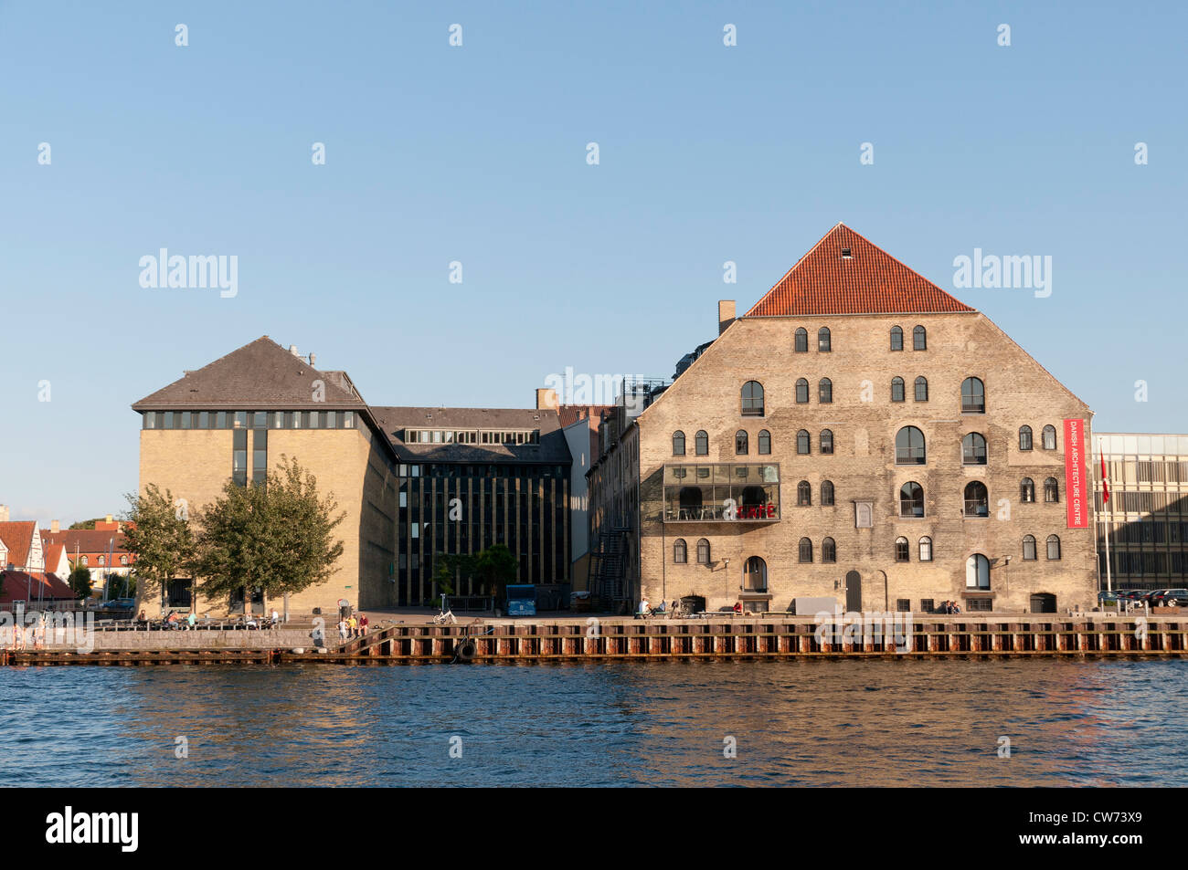 centre d'architecture danois The Danish architecture center dansk arkitektur center - Stock Image