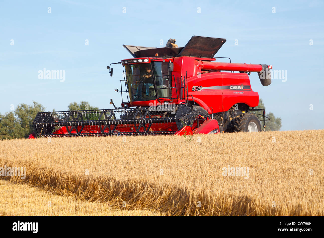 Case International Harvester : Case ih combine stock photos