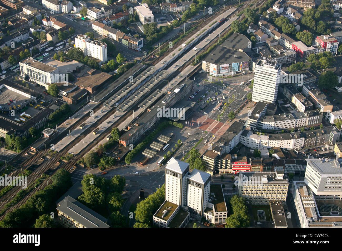 main station of Bochum at Suedring, Germany, North Rhine-Westphalia, Ruhr Area, Bochum - Stock Image