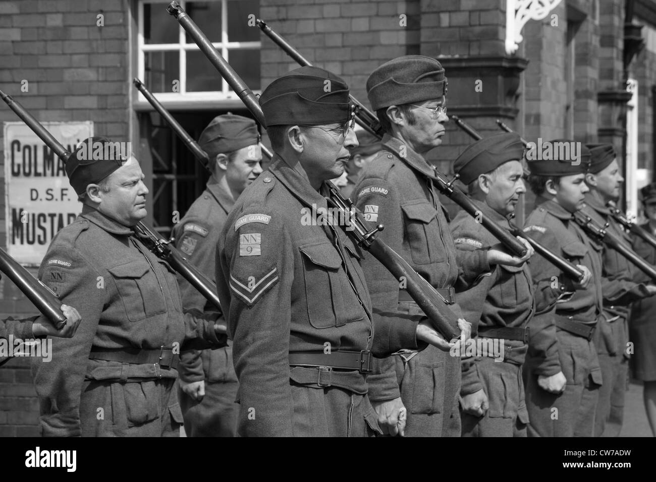 1940's Home Guard - Stock Image