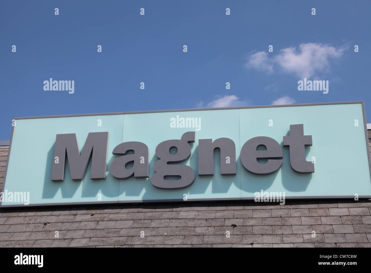 Magnet kitchens - Stock Image
