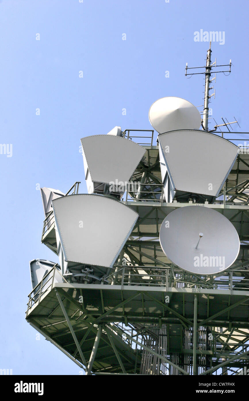 Directional transmitter - Stock Image