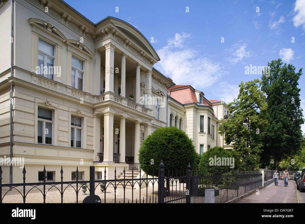 Europe, Germany, Brandenburg, Potsdam, secret forbidden zones of Kgb at the time of GDR - Stock Image