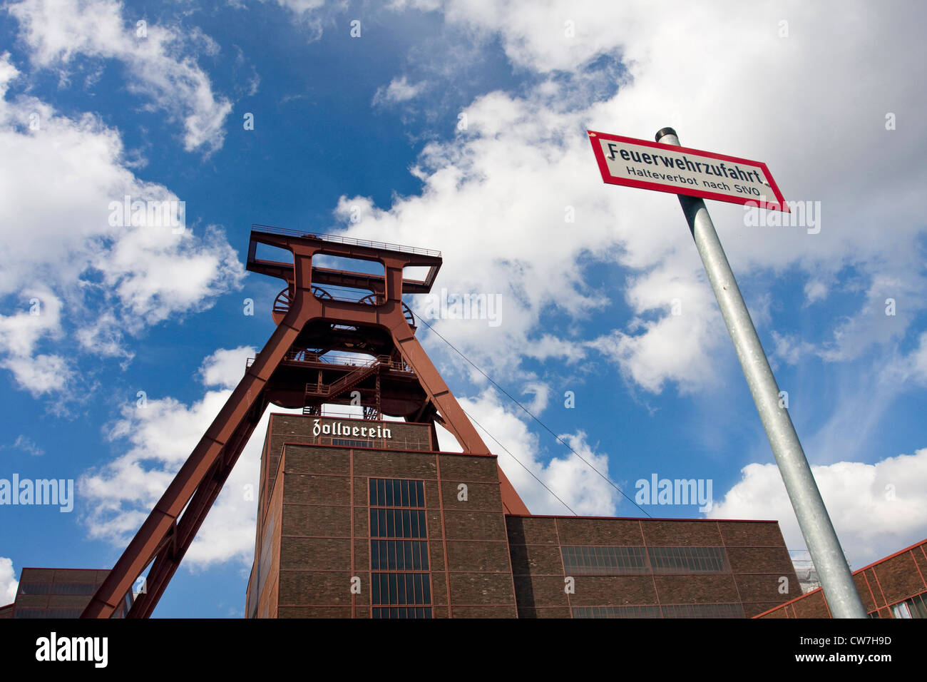 Zollverein Coal Mine Industrial Complex, Germany, North Rhine-Westphalia, Ruhr Area, Essen - Stock Image