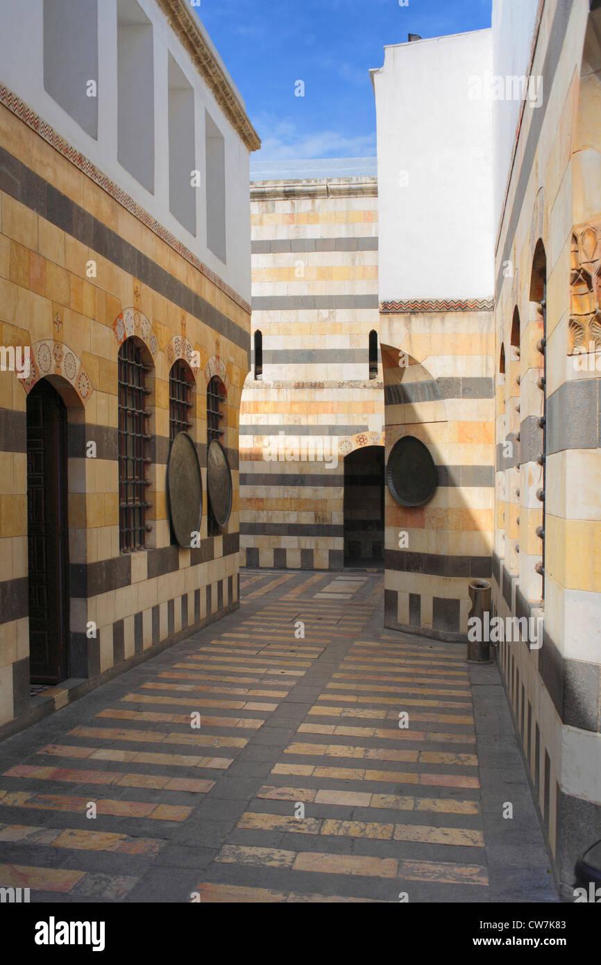 Beit al-Azem palace (1749-1752), Syria, Damaskus - Stock Image