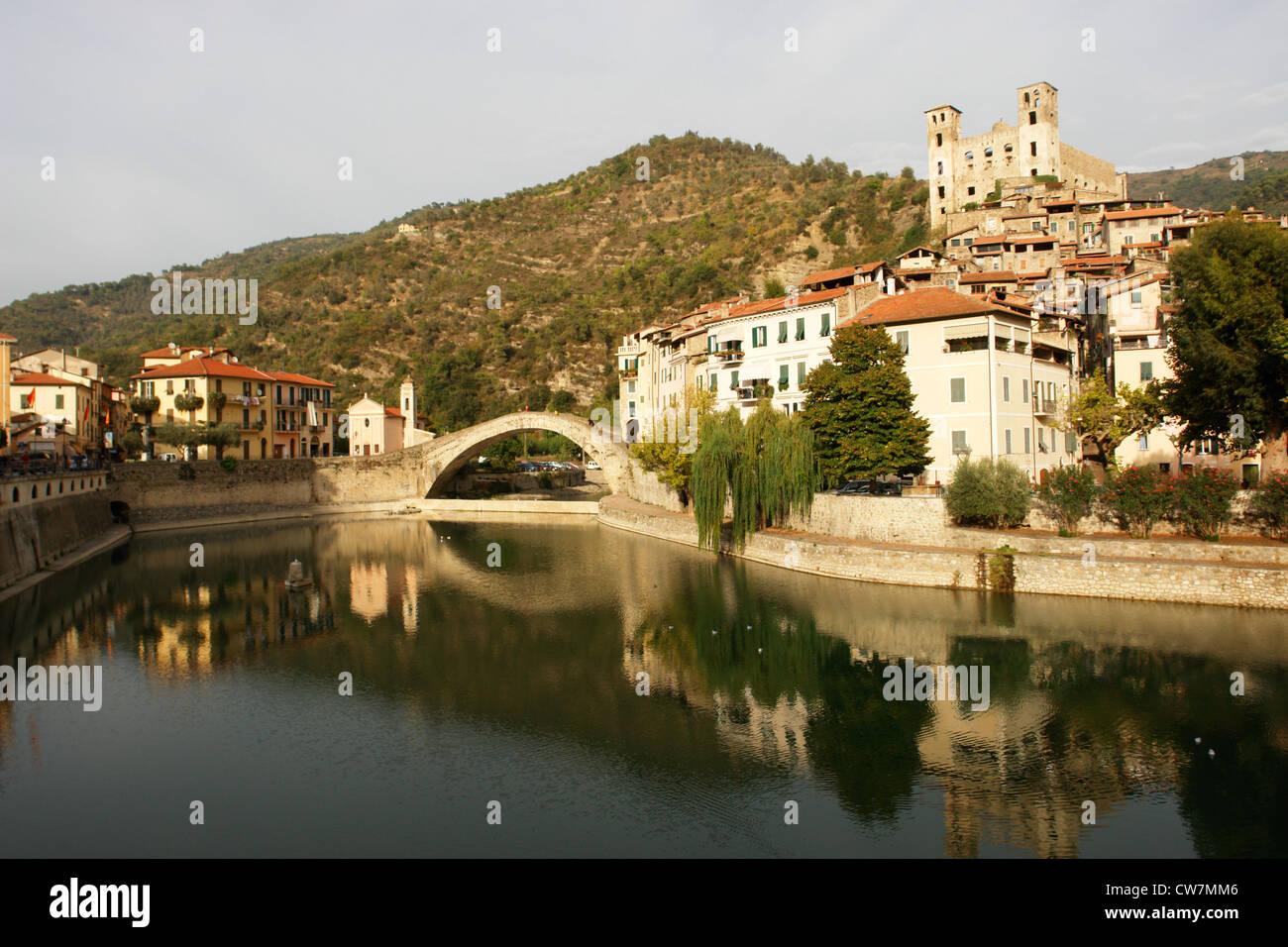 dolce aqua  dolceaqua Italy - Stock Image