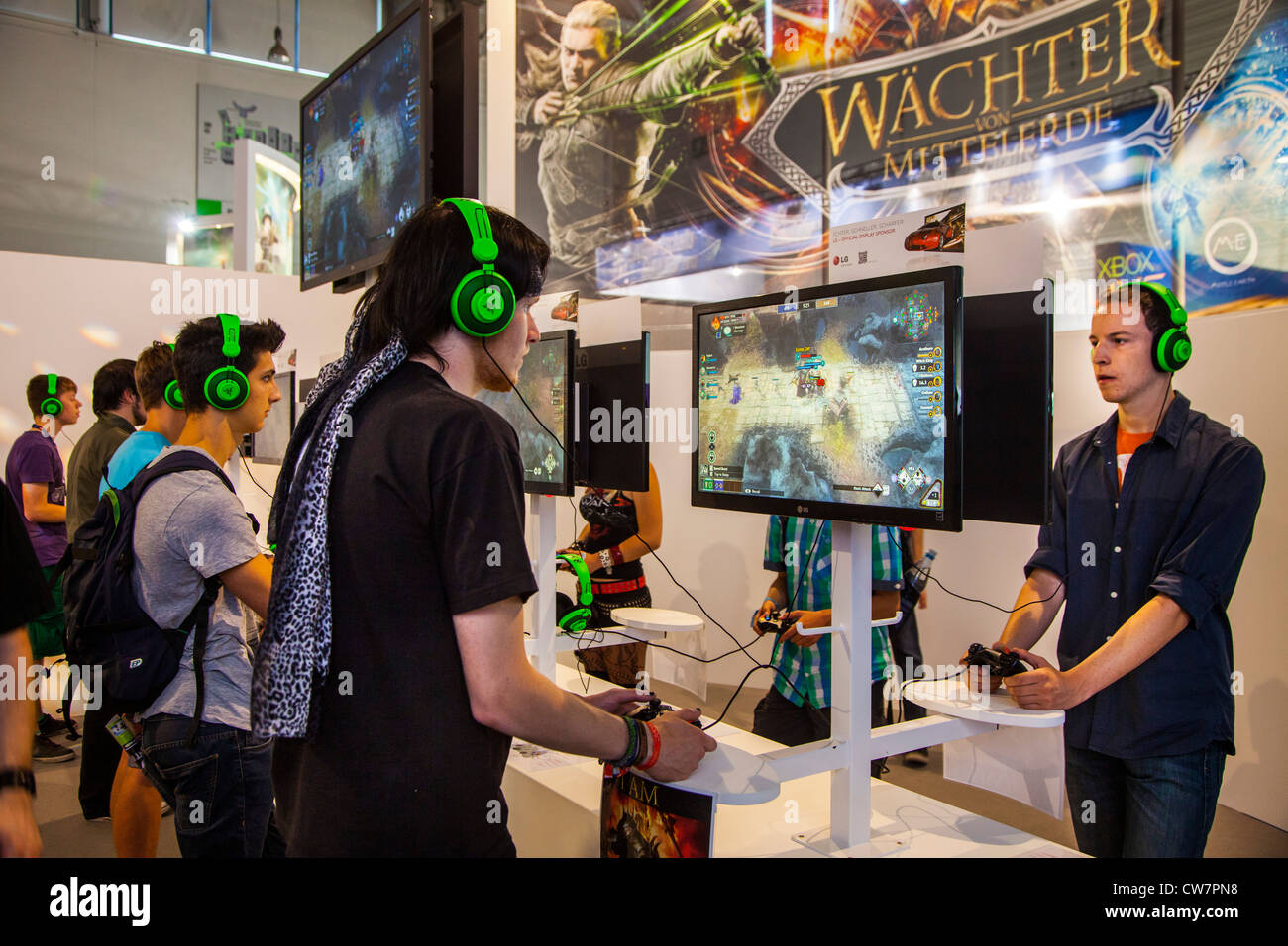 Gamescom, world largest trade show for computer games and