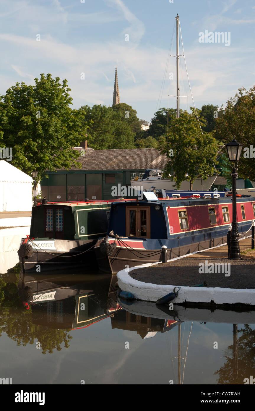 Braunston Marina, Northamptonshire, UK - Stock Image