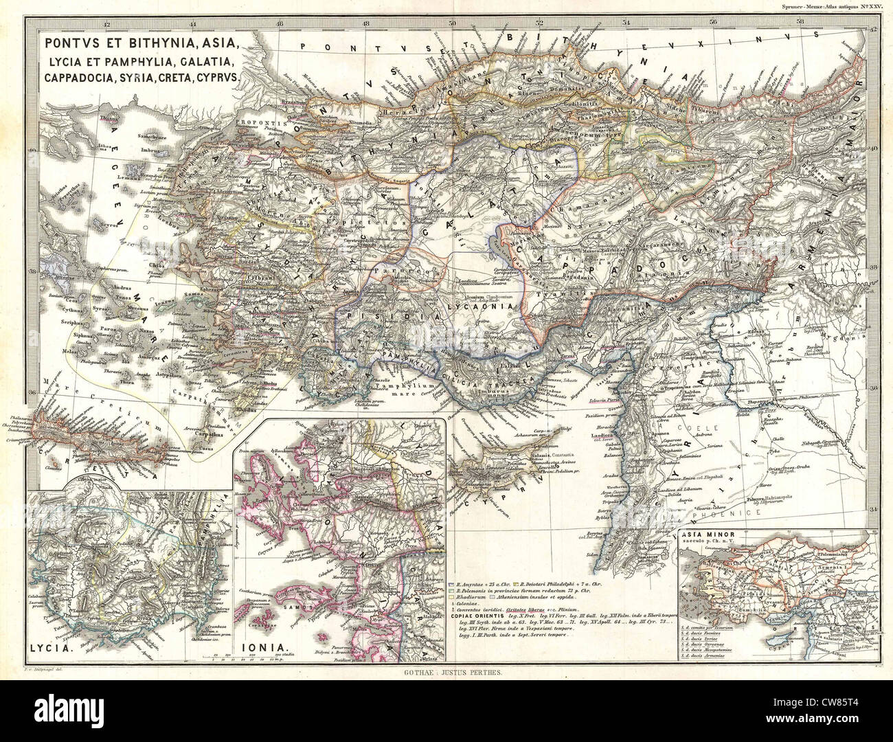 Map Of Asia Minor 60 Ad.Map Of Asia Stock Photos Map Of Asia Stock Images Alamy