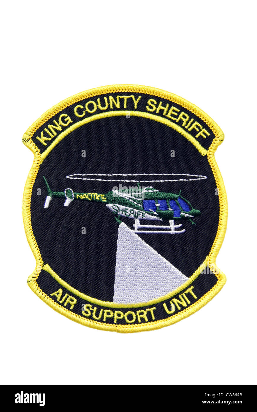 King County Washington Police Shoulder Patch