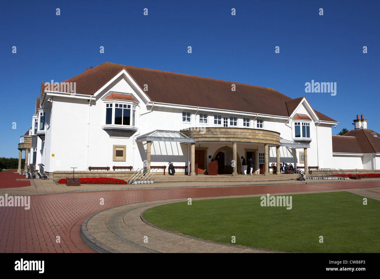 turnberry golf course and resort clubhouse scotland uk united kingdom - Stock Image