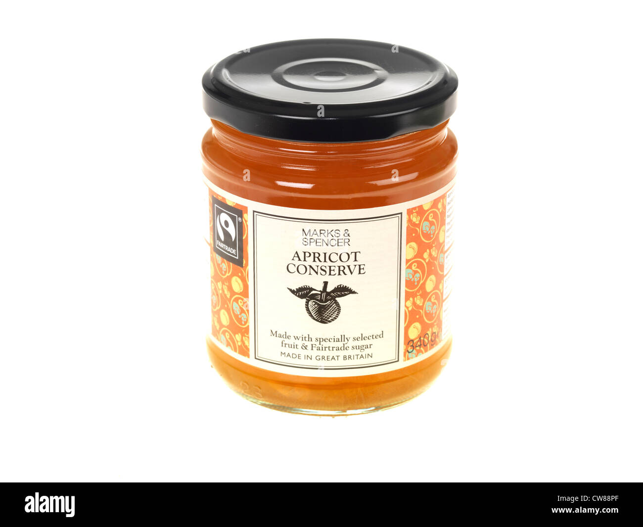 Apricot Conserve - Stock Image