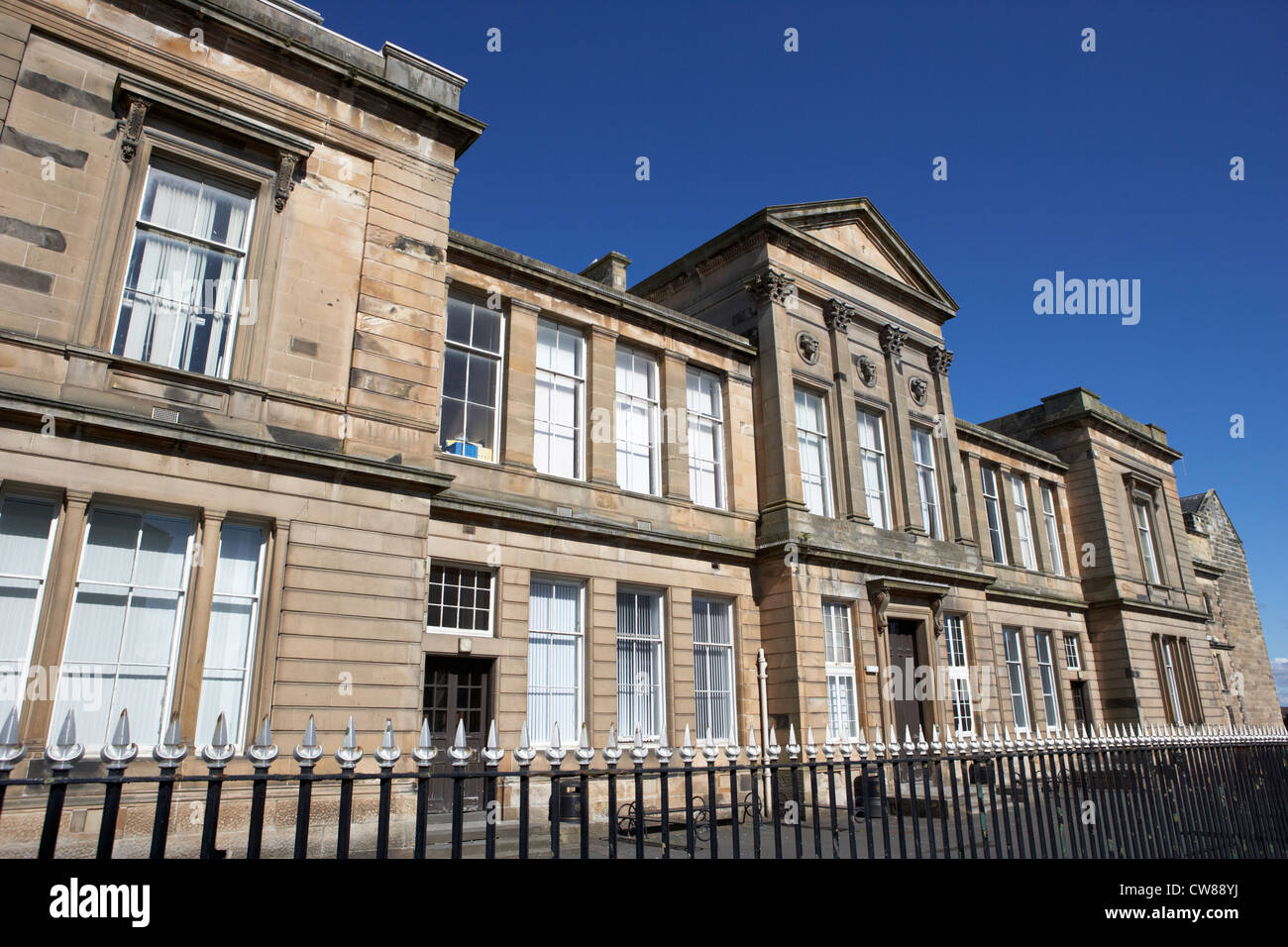 ayr academy south ayrshire the oldest secondary school in scotland uk united kingdom - Stock Image
